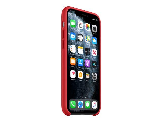 Apple (PRODUCT) RED – Copertina per cellulare – silicone – rosso – per iPhone 11 Pro [ TT810206 ]