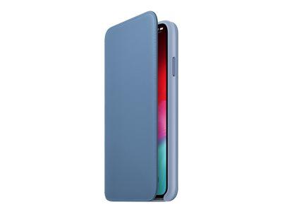 Apple Smart Folio – Flip cover per cellulare – pelle – fiordaliso – per iPhone XS Max [ TT812247 ]