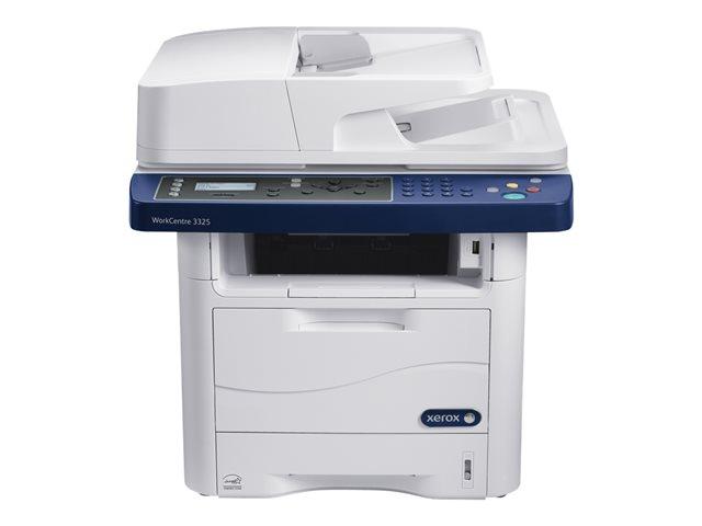 Xerox WorkCentre 3325V_DNI – Stampante multifunzione – B/N – laser – Legal (216 x 356 mm) (originale) – A4/Legal (supporti) – fino a 35 ppm (stampa) – 300 fogli – 33.6 Kbps – USB 2.0, Gigabit LAN, host USB, Wi-Fi [ TT745477 ]