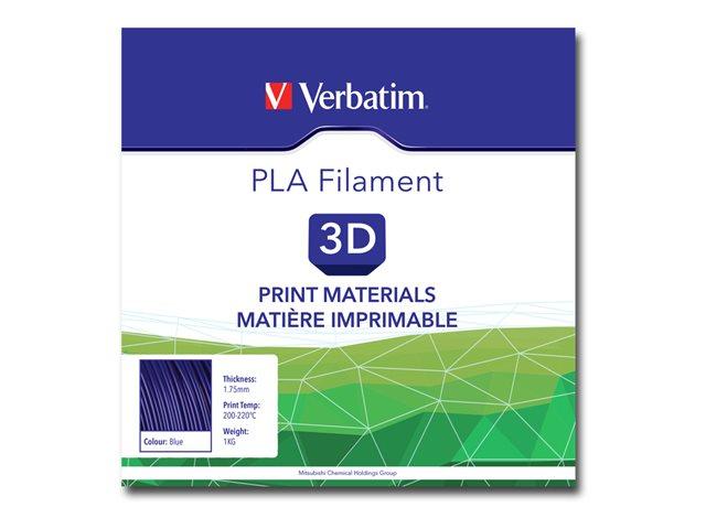 Verbatim – Blu – 1 kg – filamento PLA (3D) [ TT280927 ]