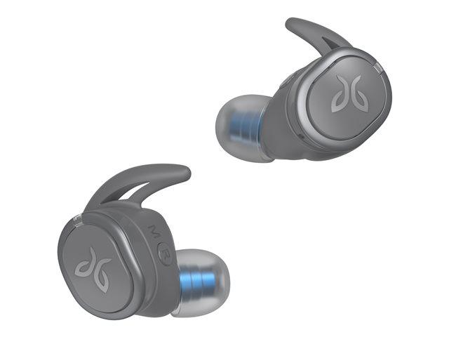 Jaybird RUN XT – True wireless earphones con microfono – in-ear – Bluetooth – isolamento dal rumore – grigio, temporale [ TT813659 ]
