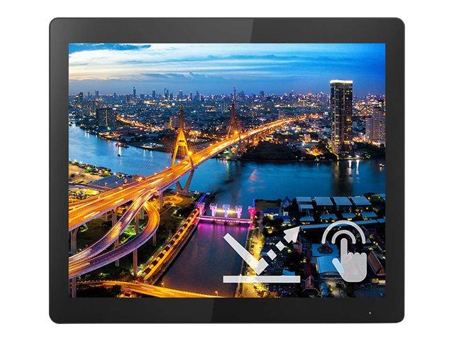 Philips B Line 172B1TFL – Monitor a LED – 17″ – touchscreen – 1280 x 1024 SXGA @ 75 Hz – TN – 400 cd/m² – 1000:1 – 4 ms – HDMI, DVI-D, VGA, DisplayPort – black texture [ TT814558 ]