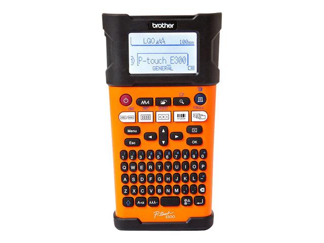 Brother P-Touch PT-E300VP – etichettatrice – in bianco e nero – trasferimento termico [ TT227383 ]