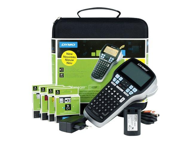 DYMO LabelMANAGER 420P – Etichettatrice – B/N – trasferimento termico – Rotolo (1,9 cm) – 180 dpi – USB [ TT819710 ]